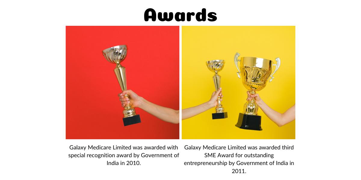 Galaxy Medicare Limited Awards